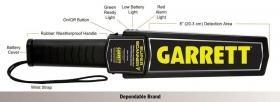 Garrett Super Scanner V handscanner